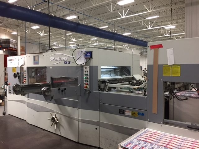 2006 Bobst SPanthera 106LE