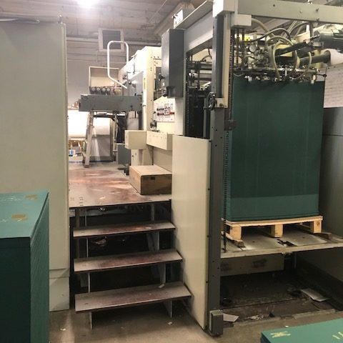 NEW LISTING!  1999 Bobst SP 102BMA