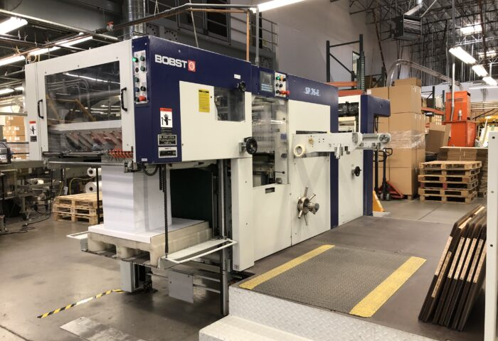 JUST ADDED–2005 Bobst SP 76E