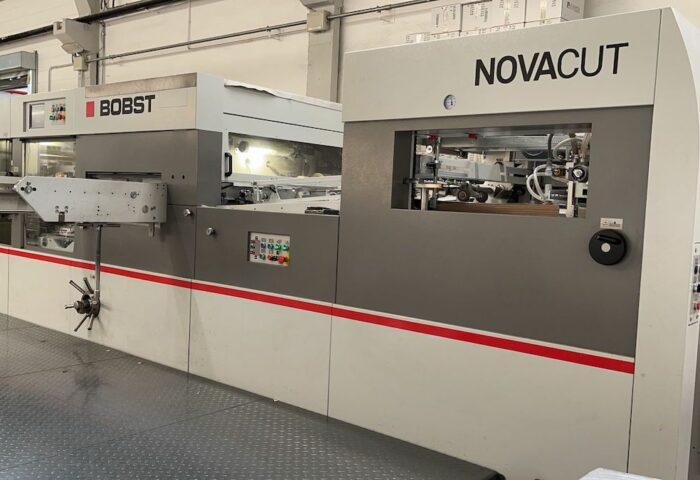 NEW ADDITION:  2017 Bobst NOVACUT 106E